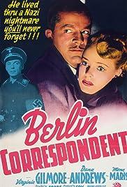 Berlin Correspondent Poster