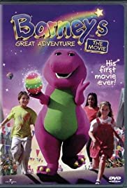 Barney's Great Adventure Poster