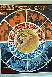 Los leones del ring contra la Cosa Nostra Poster