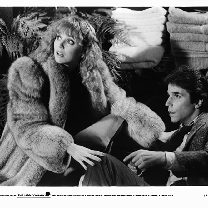 Shelley Long and Henry Winkler in Night Shift (1982)