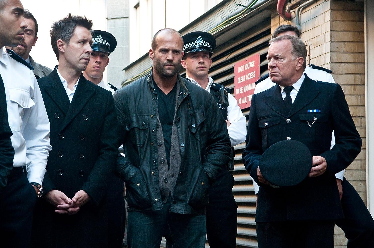 Jason Statham and Paddy Considine in Blitz (2011)