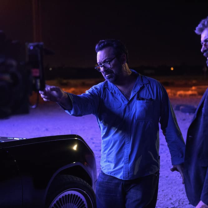James Mangold and Hugh Jackman in Logan (2017)