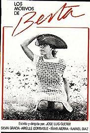 Los motivos de Berta Poster