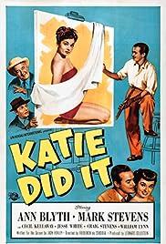Katie Did It Poster