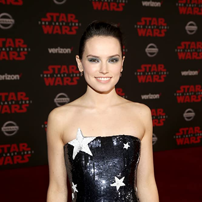 Daisy Ridley at an event for Star Wars: The Last Jedi (2017)