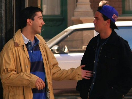 Friends: The One with George Stephanopoulos | Season 1 | Episode 4