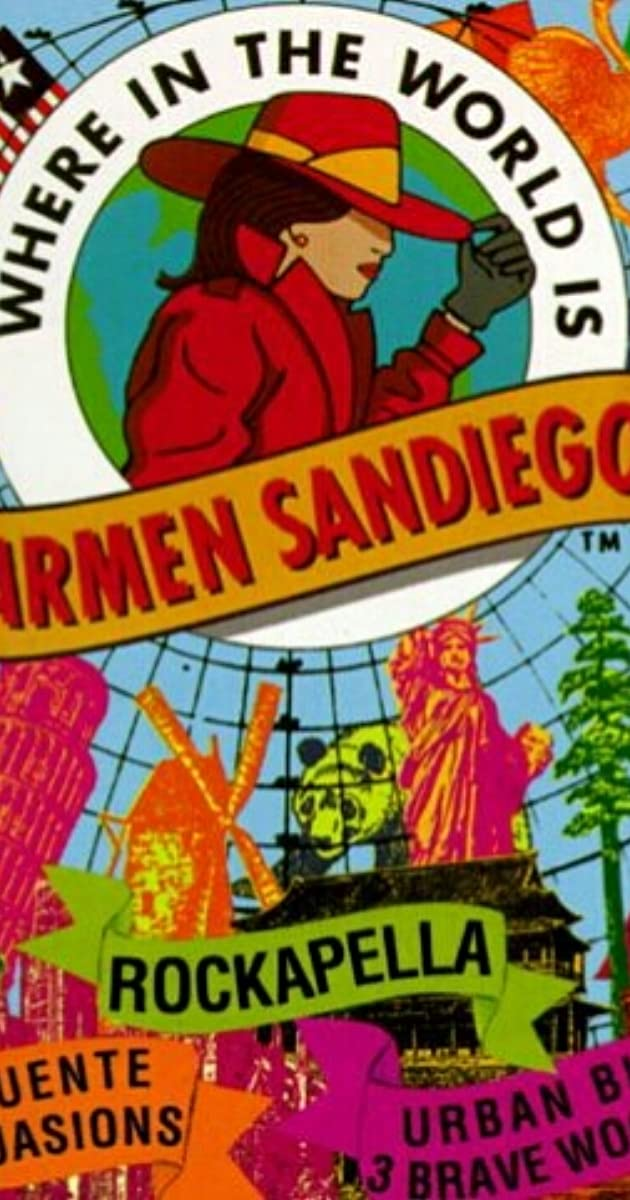 Where In The World Is Carmen Sandiego Tv Series 1991
