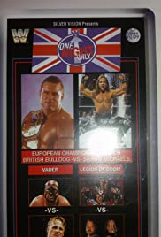 WWF One Night Only Poster