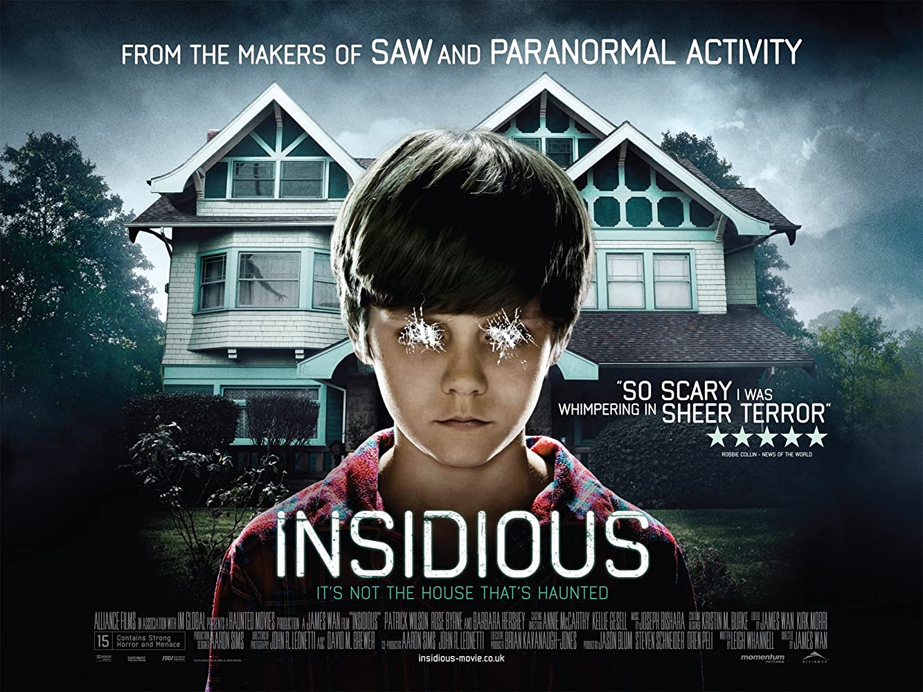 Insidious (2010) Movie in Hindi Dubbed Dual Audio 720p BRRip Watch Online Free Download At Movies365.in