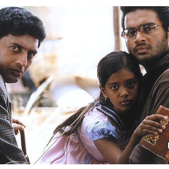 Madhavan, Prakash Raj, and Keerthana Parthiepan in A Peck on the Cheek (2002)