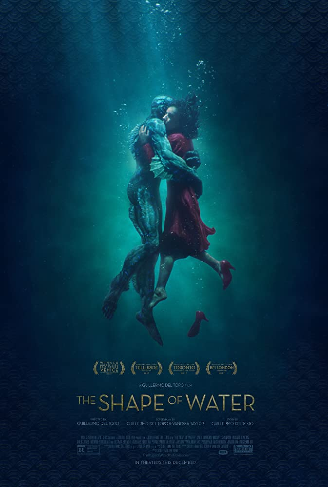 The Shape Of Water 2017 ORG 400MB BluRay Dual Audio Hindi 480p x264