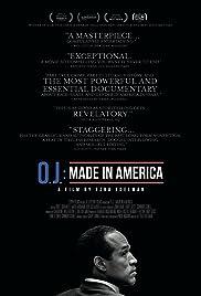 O.J.: Made in America Poster