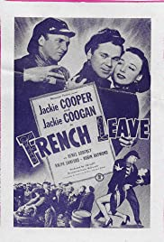 French Leave Poster