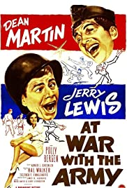 At War with the Army Poster