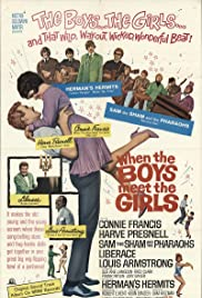 When the Boys Meet the Girls(1965) Poster - Movie Forum, Cast, Reviews