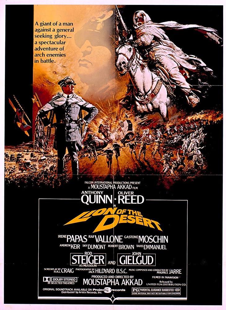 Download Lion Of The Desert 1981 1080p BRRip x264 AAC 5 1 - Hon3y Torrent