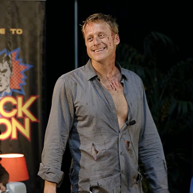Alan Tudyk in Con Man (2015)