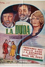 La duda Poster