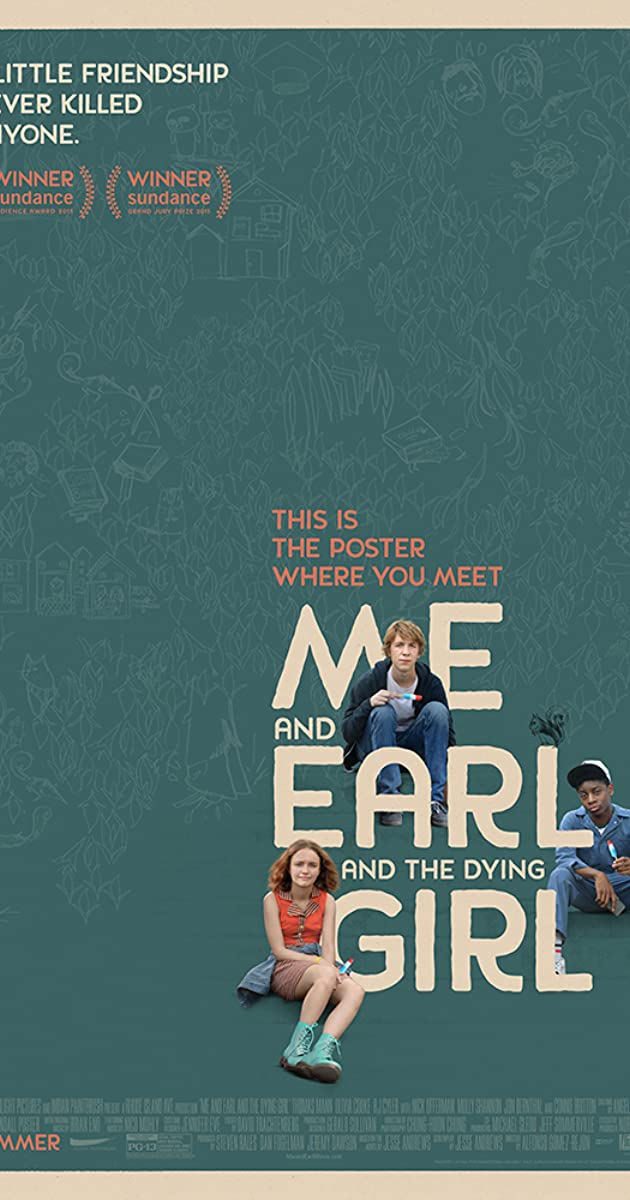 Me and earl and the dying girl 2015 imdb stopboris Image collections
