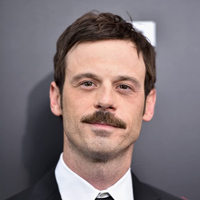 Scoot McNairy at an event for Batman v Superman: Dawn of Justice (2016)