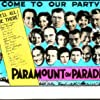 Gary Cooper, Jean Arthur, Clara Bow, Maurice Chevalier, Nancy Carroll, Richard Arlen, Mary Brian, George Bancroft, Evelyn Brent, Clive Brook, Ruth Chatterton, Leon Errol, Stuart Erwin, Kay Francis, Richard 'Skeets' Gallagher, Harry Green, Mitzi Green, James Hall, and Helen Kane in Paramount on Parade (1930)