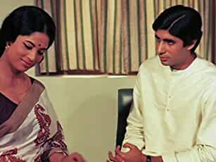 Amitabh Bachchan and Sumita Sanyal in Anand (1971)