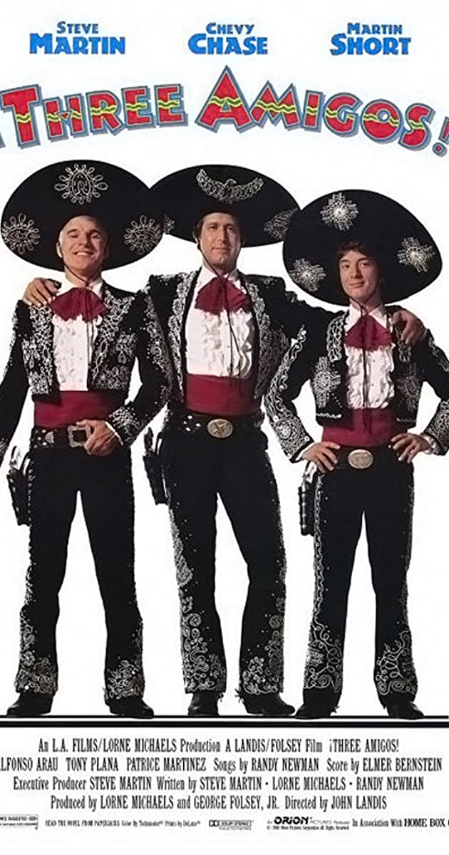 ¡Three Amigos! (1986) - IMDb