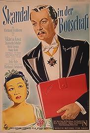 Skandal in der Botschaft Poster