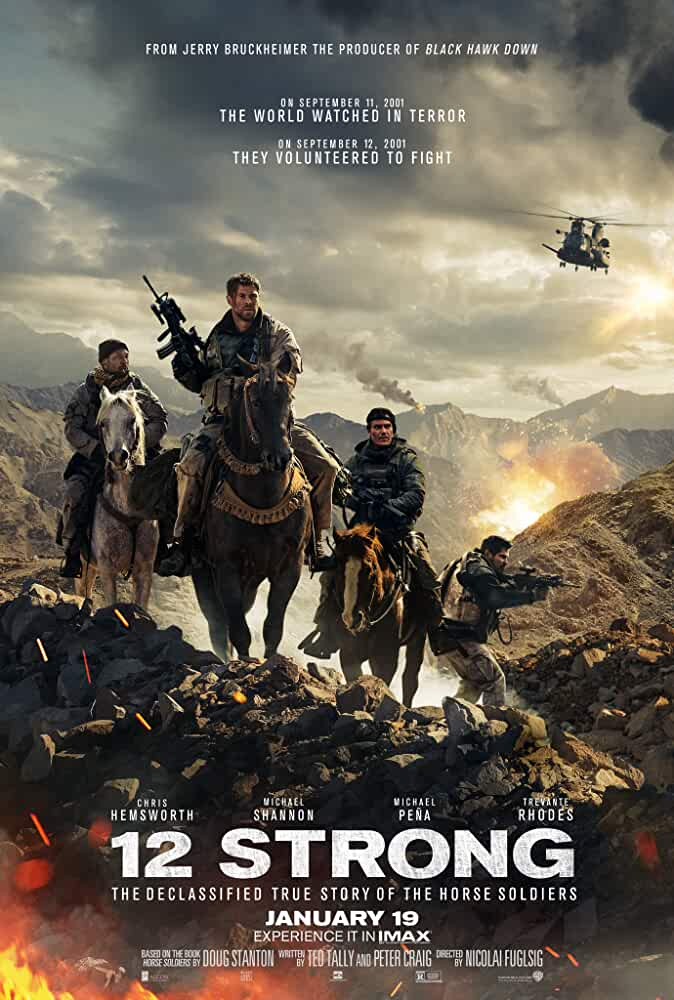 12 Strong 2018 Full English Movie 1080p Watch Online Free Download