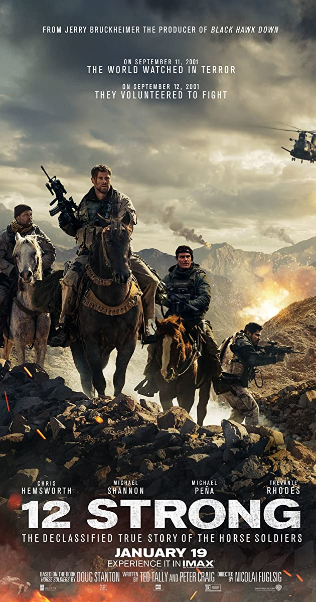 12 stipriausių / 12 Strong (2018) online