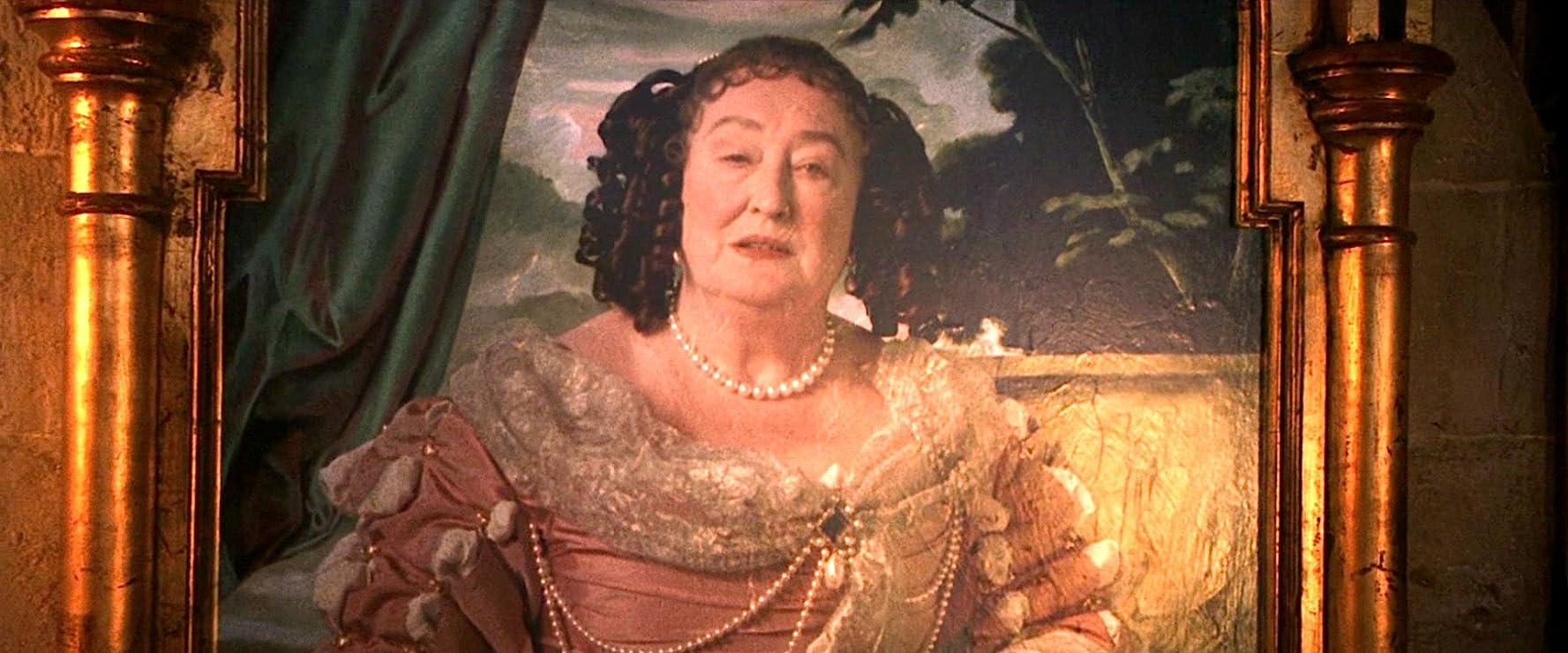 Elizabeth Spriggs as the Fat Lady