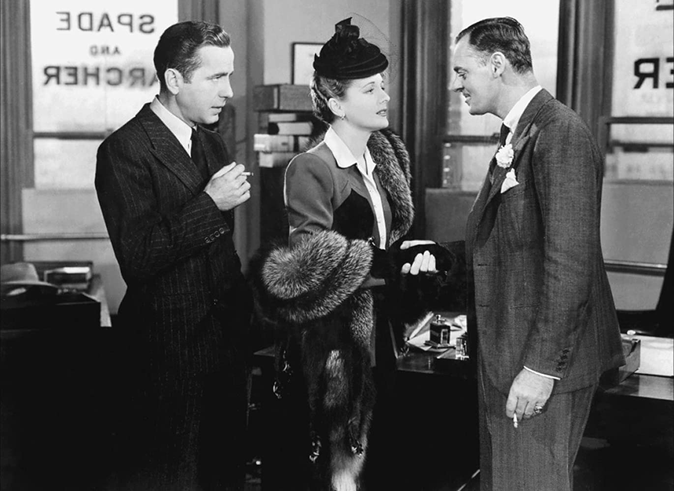 Image result for jerome cowan maltese falcon images