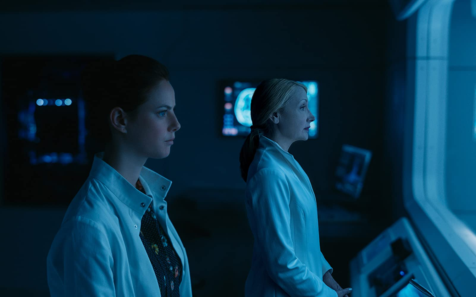 Patricia Clarkson and Kaya Scodelario in Maze Runner: The Death Cure (2018)