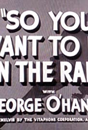 So You Want to Be on the Radio (1948) Poster - Movie Forum, Cast, Reviews