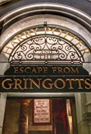 Harry Potter and the Escape from Gringotts Poster