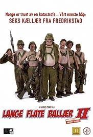 Lange flate ballær II Poster
