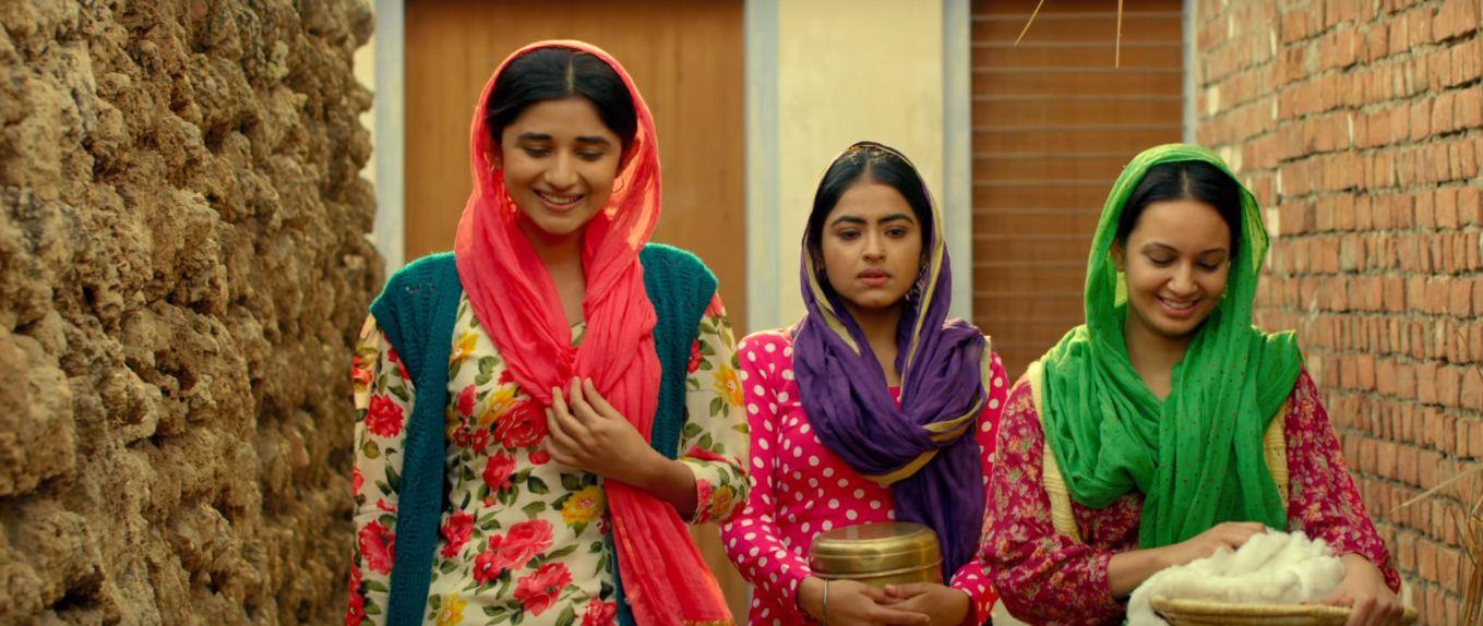 Simi Chahal and Kanika Mann in Daana Paani (2018)
