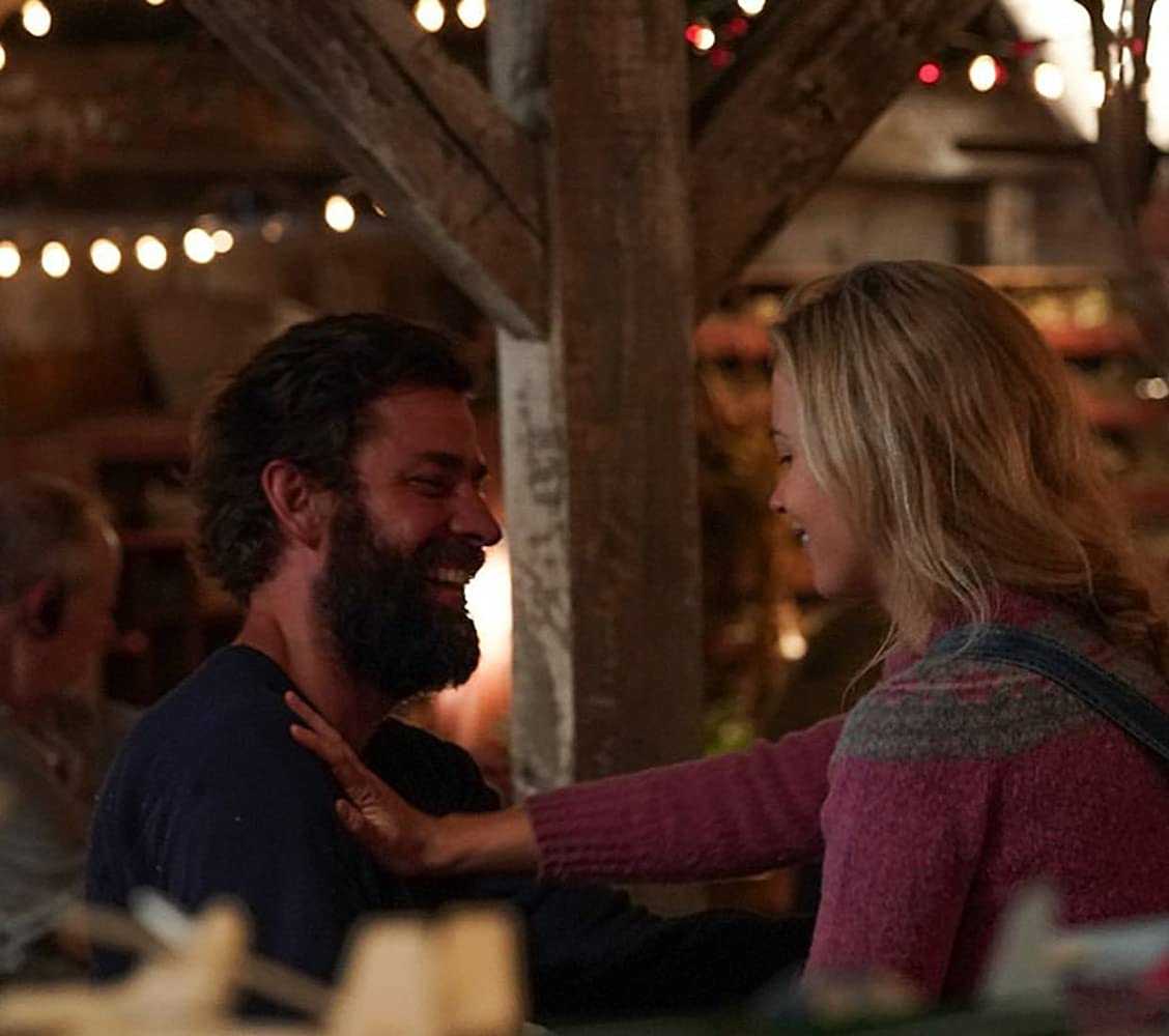 John Krasinski and Emily Blunt in A Quiet Place (2018)
