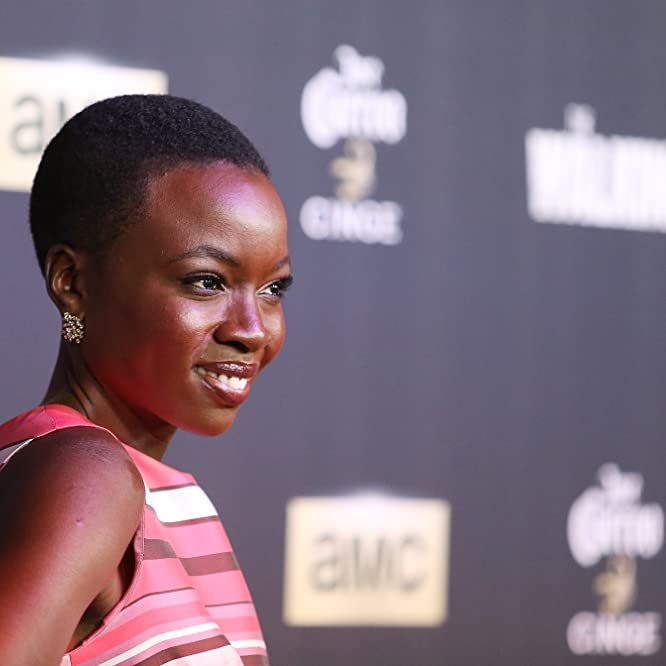 Danai Gurira at an event for The Walking Dead (2010)