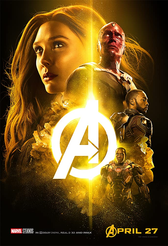 Avengers: Infinity War 2018 Dual Audio Movie 900MB