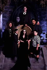 Addams Family in Court Poster