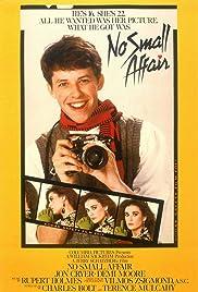 No Small Affair Poster