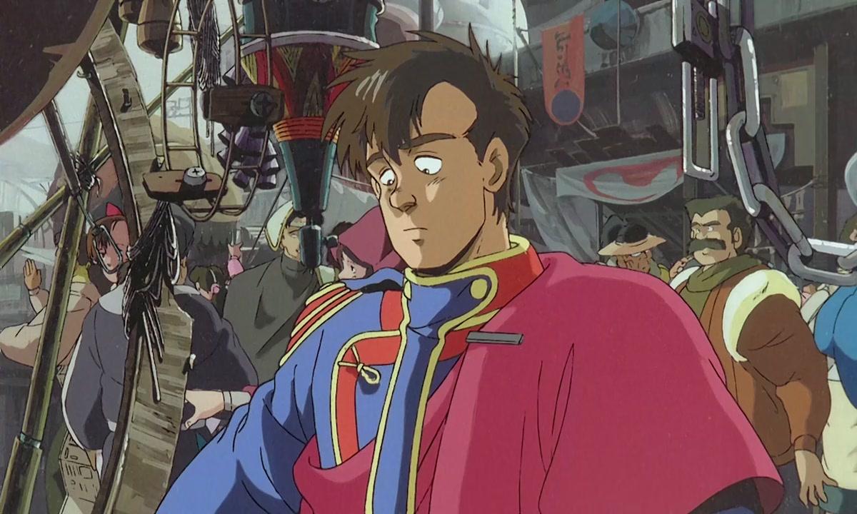 Kết quả hình ảnh cho Royal Space Force: (Ouritsu Uchuugun: Honneamise no Tsubasa) anime