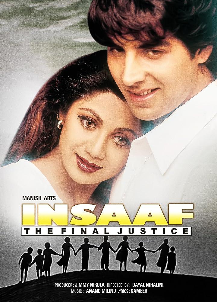 Insaaf (1997) Hindi 720p HDRip x264 1.2GB