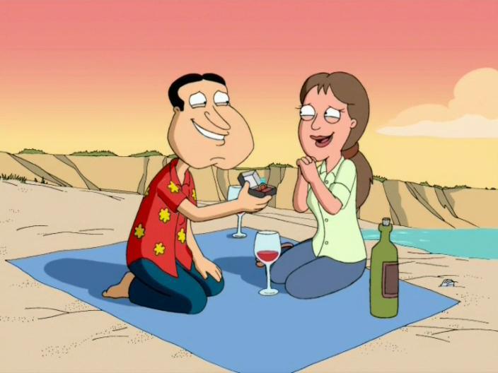 Les Griffin: I Take Thee, Quagmire | Season 4 | Episode 21