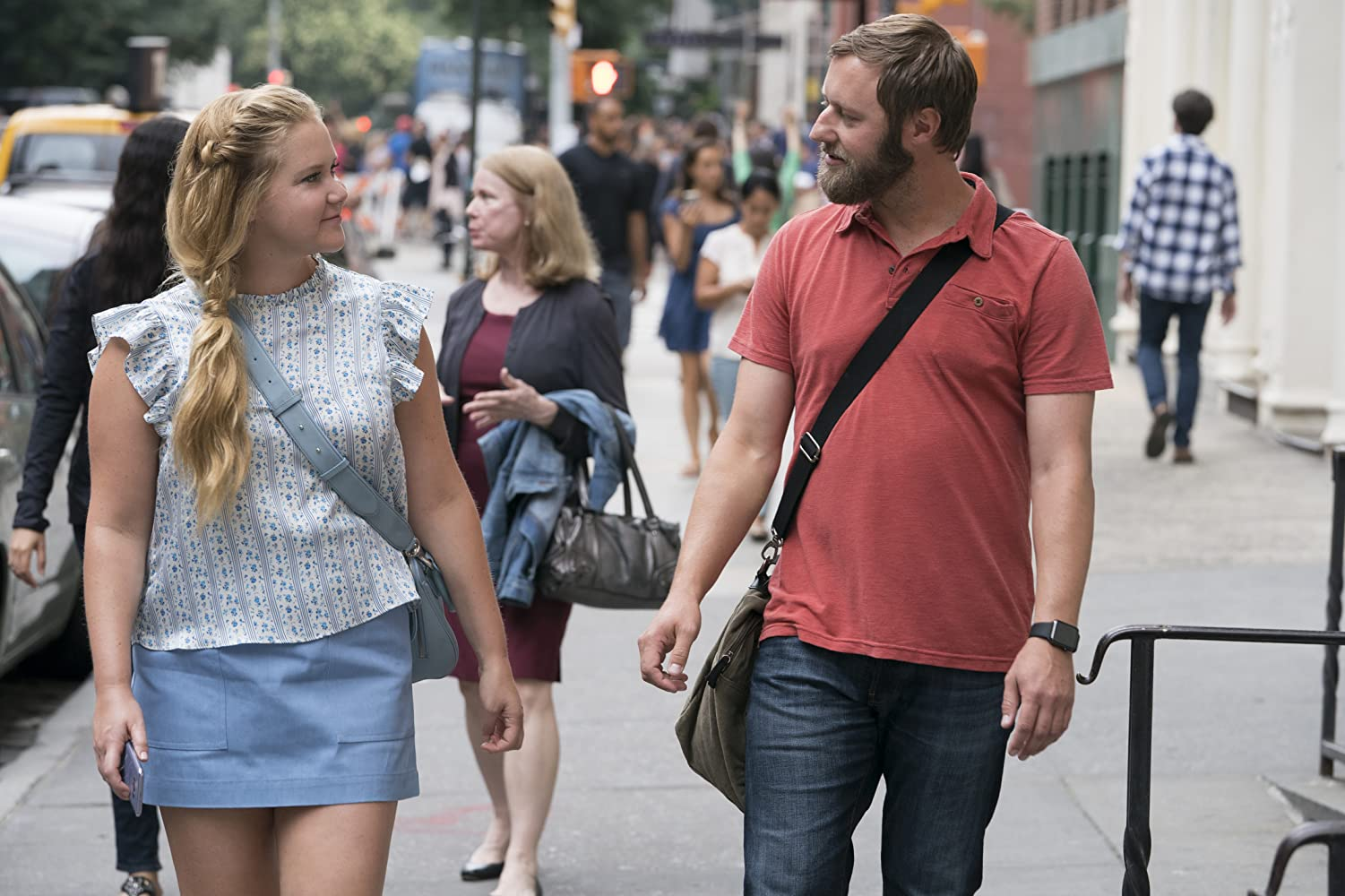 Amy Schumer and Rory Scovel in I Feel Pretty (2018)
