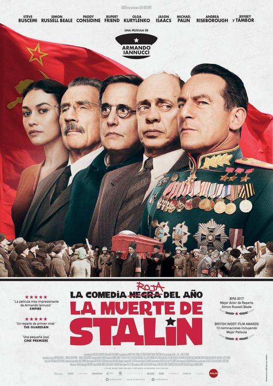 Steve Buscemi, Michael Palin, Jeffrey Tambor, Jason Isaacs, and Olga Kurylenko in The Death of Stalin (2017)