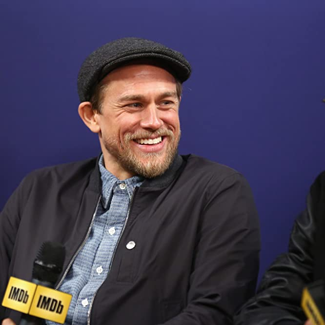 Charlie Hunnam and Michael Noer