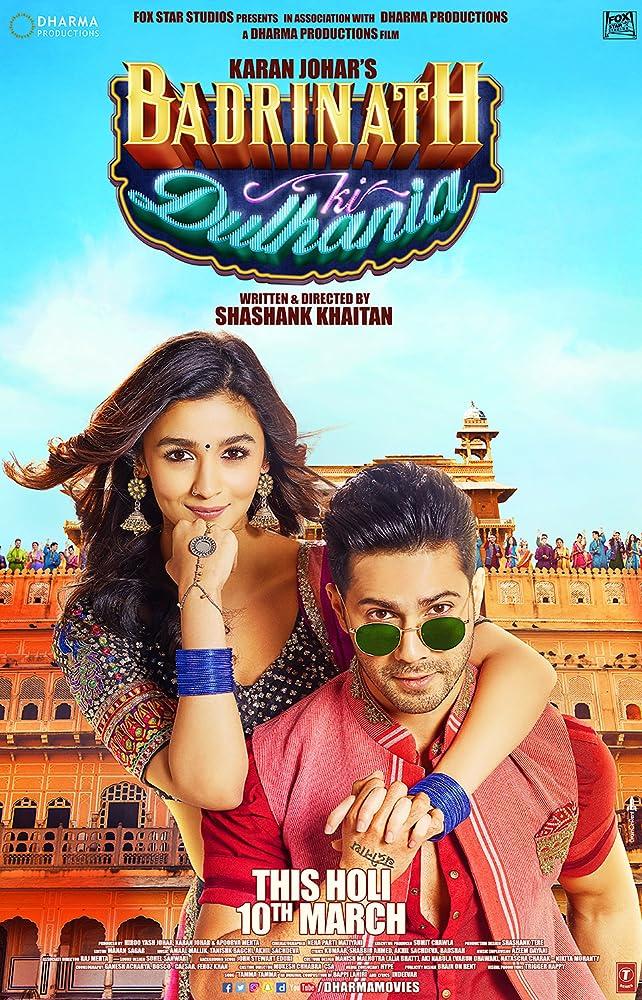 Badrinath Ki Dulhania 2017 Movie 950MB