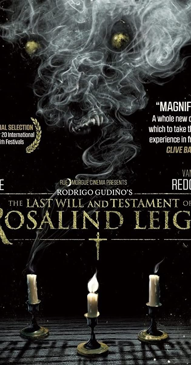 The Last Will and Testament of Rosalind Leigh (2012) - The Last Will ...